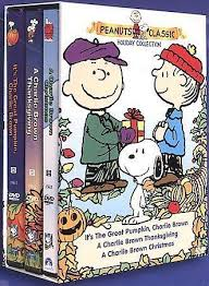 brown thanksgiving dvd peanuts classic collection gift set dvd 2000 3 disc set