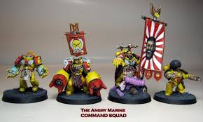 Angry Marines Meme - the angry marine command squad warhammer 40 000 know your meme