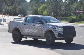 Ford Ranger Utility Truck - spied 2019 ford ranger xlt wildtrak and raptor plus 2020 ford