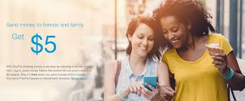 get a free 5 from paypal by sending money to a friend or family