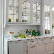 shaker kitchen cabinet doors with glass mirrored kitchen cabinet doors design ideas