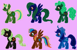 opposite colours the mane six opposite colours saturation and by