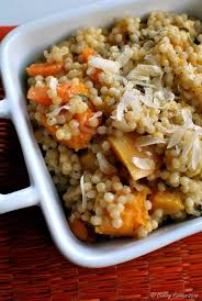 couscous risotto with butternut squash and carrots cooking curries