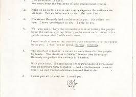 Cabinet Responsibilities Lyndon Johnson The New President U0027s Remarks To The Kennedy Cabinet