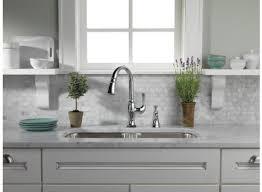brizo talo single handle pull down kitchen faucet