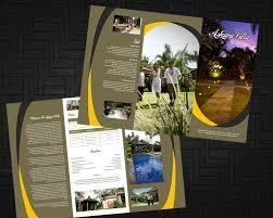 contoh desain brosur hotel sribu desain flyer brosur desain brosur askara villa bali