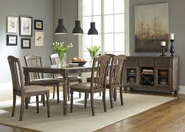 liberty furniture candlewood 7 piece rectangular dining set in