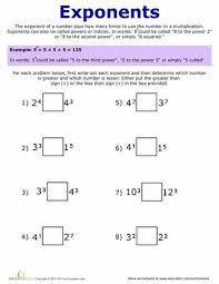 exponents worksheets pdf best 25 exponents practice ideas on algebra help