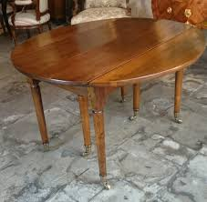 a louis xvi solid walnut extending dining table circa 1780 ref 61309