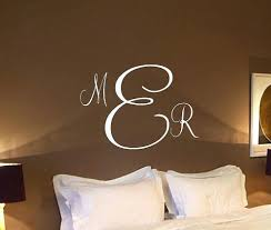 monogram letters home decor wall monogram decals initials painted wood monogram initials wall