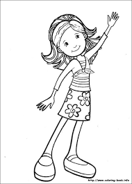 32 groovy girls coloring pages images
