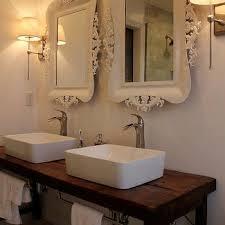 Distressed Wood Bathroom Vanity How To Build A Bathroom Vanity From Reclaimed Wood Large Size Of