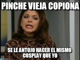 Memes Soraya Montenegro - pinche vieja copiona soraya montenegro meme on memegen