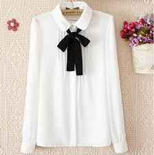 bow tie blouse plus size plus size sleeve shirt blouses 2015 summer white