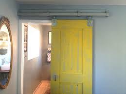 Diy Barn Door Track by Diy Barn Door For Master Suite U2013 Keeps On Ringing