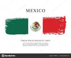 mexican flag banner template u2014 stock vector igor vkv 137862732