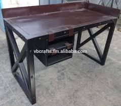 Industrial Writing Desk by Writing Desk Metal Industrial Vintage Design Buy Vintage