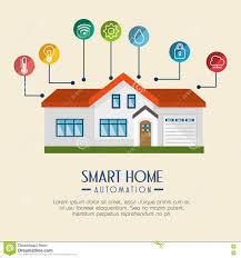 smart home technology smart home technology icon stock vector image 81869102