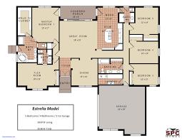 best floor plan for 4 bedroom house single story house plans inspirational best floor open modern 4