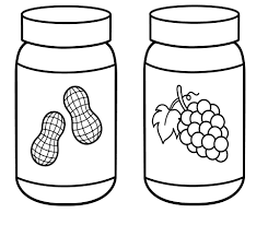peanut clipart coloring page pencil and in color peanut clipart
