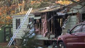 fighting flames and heat as home burns in dunmore wnep com