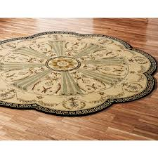 Rustic Area Rugs Home Decor Appealing Octagon Rug To Complete Imperial Palace Area
