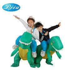 inflatable t rex dinosaur costume for kids unisex fancy dress dino