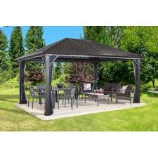 Patio Canopies And Gazebos Patio Canopies And Gazebos Wayfair