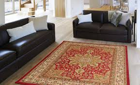 Round Burgundy Rug by Home Dynamix Royalty Collection 8083 100 Area Rug Walmart Com