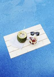 floating table for pool diy floating pool tray the merrythought