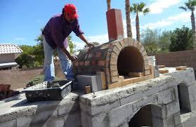 patio fireplace pizza oven patio decoration ideas