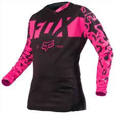 riding gear motocross gear racing ladies new kinetic teal white fox mx pink yellow fox