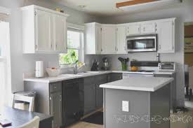 kitchen creative painting kitchen cabinets white before and