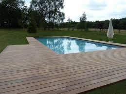 plage de piscine terrasse en bois 78 autour d u0027une piscine france terrasse bois