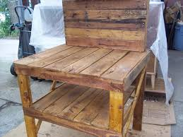 Wooden Potting Benches Diy Recycled Pallet Potting Bench 101 Pallets
