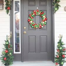 interesting porch christmas decorating ideas images ideas tikspor