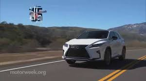 lexus suv for sale ri motorweek road test 2016 lexus rx youtube