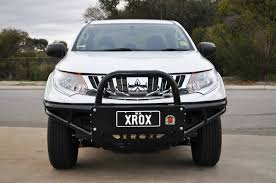 mitsubishi triton offroad our news what is the best bull bar for your mq triton