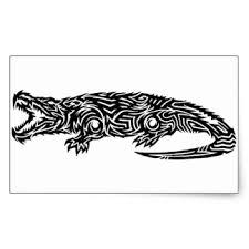 lizard tattoo stickers zazzle