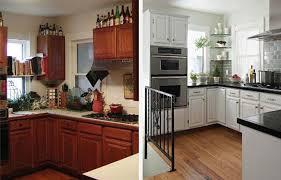 relooker sa cuisine avant apres relooker une cuisine rustique en moderne credence de cuisine