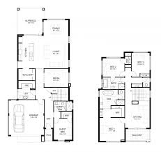 Duplex Floor Plans Single Story by One Story Duplex House Plans Bedroom Floor Basic With Garage In