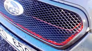 Uprava Masky Subaru Legacy Little Bit Modificated Grille Youtube