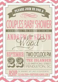 coed baby shower invitation wording marialonghi com