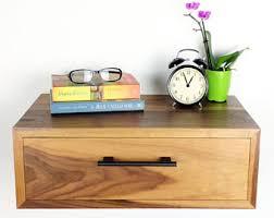 Wall Mounted Nightstand Bedside Table Floating Nightstand Etsy