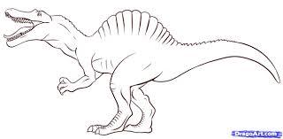 coloring free download spinosaurus coloring page spinosaurus