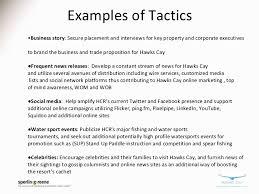 business plan public relations sample