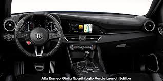 alfa romeo giulia quadrifoglio verde launch edition carmag co za