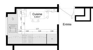cuisine surface awesome cuisine amenagee surface 4 am233nager une