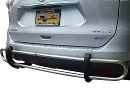 nissan rogue rear bumper protector 14 17 rogue rear bar bumper protector grill guard double tube s s