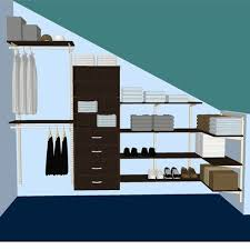 alluring storage for closet with slanted ceiling roselawnlutheran